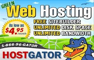hostgator review banner